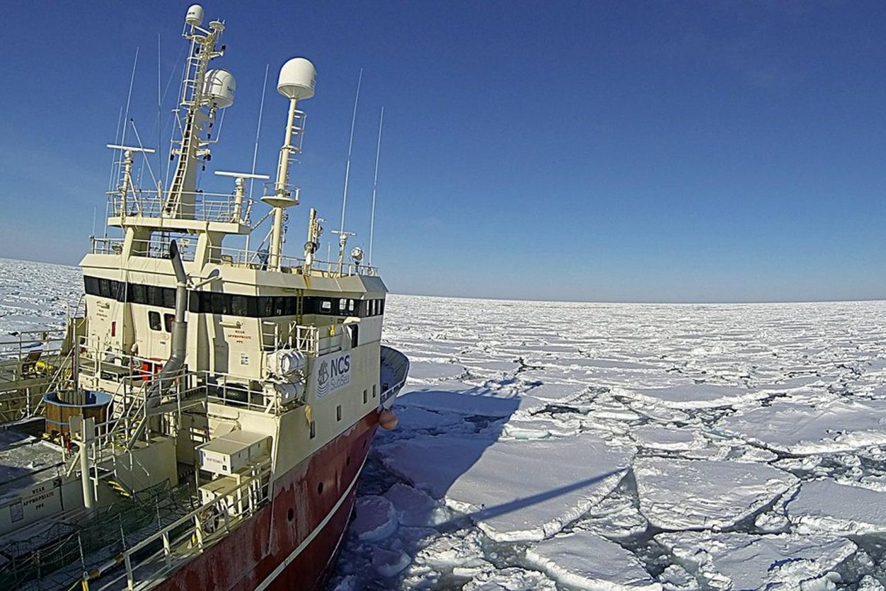 Iskanten: -Langt fra nok