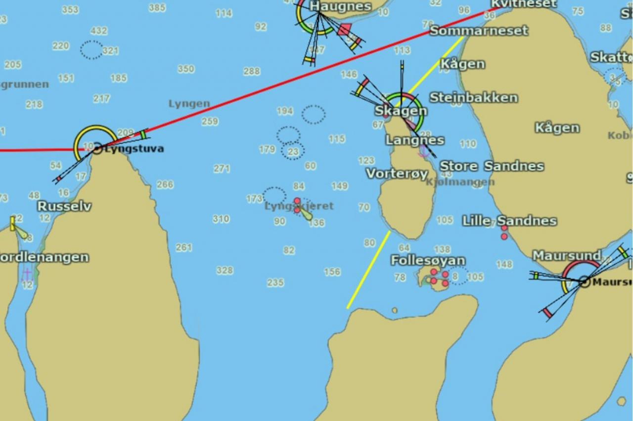 Åpner fjordlinjer for not